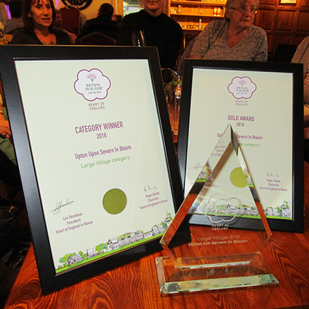 Gold Award Upton in Bloom